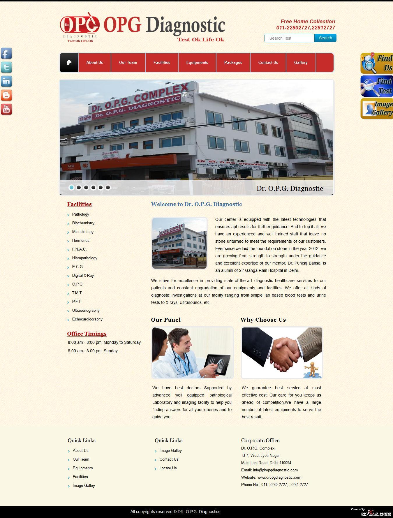 Dr. O.P.G. Diagnostics
